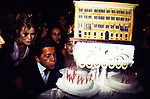 VALENTINO GARAVANI VALENTINO GARAVANI CON CLAUDIA SCHIFFER<br /> MOSTRA VALENTINO IN CAMPIDOGLIO E BALLO A VILLA MEDICI ROMA 1991
