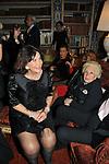 NICOLETTA ODESCALCHI E ASSUNTA ALMIRANTE<br /> FESTA DEGLI 80 ANNI DI MARTA MARZOTTO<br /> CASA CARRARO ROMA 2011