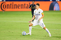 CARSON, CA - SEPTEMBER 06: Daniel Steres #5 of the Los Angeles Galaxy moves with the ball during a game between Los Angeles FC and Los Angeles Galaxy at Dignity Health Sports Park on September 06, 2020 in Carson, California.