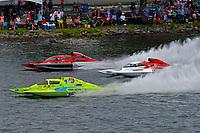 "Mathew Daoust, GP-9, Ken Brodie II, GP-50 ""Intensity"", Andrew Tate, GP-101 ""Fat Chance Too"" (Grand Prix Hydroplane(s)"