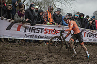 Mathieu Van Der Poel (NED/Corendon Circus) <br /> <br /> Men Elite Race<br /> UCI CX Worlds 2018<br /> Valkenburg - The Netherlands