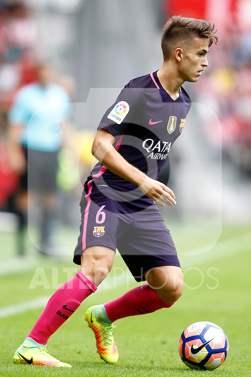 FC Barcelona's Denis Suarez during La Liga match. September 24,2016. (ALTERPHOTOS/Acero)