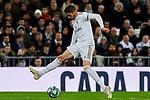 Fede Valverde of Real Madrid during La Liga match between Real Madrid and Real Sociedad at Santiago Bernabeu Stadium in Madrid, Spain. November 23, 2019. (ALTERPHOTOS/A. Perez Meca)