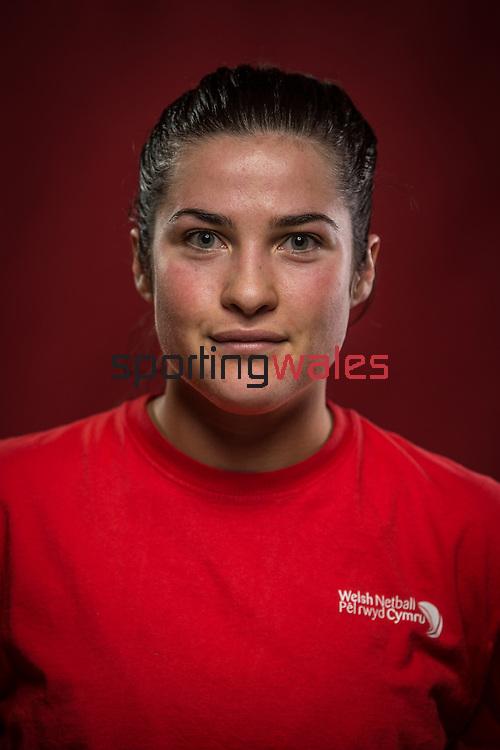 Welsh Netball - Under 21's squad 2016<br /> 29.11.15<br /> ©Steve Pope - SPORTINGWALES