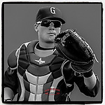 Boston Red Sox catcher Christian Vazquez was in the minors with the Greenville Drive here on April 25, 2010, at Fluor Field at the West End in Greenville, S.C. (Tom Priddy/Four Seam Images) #throwbacks