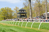 Picture perfect. A view of the homestretch at Glenwood Park in Middleburg.