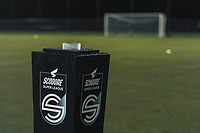 Still no matchball before a female soccer game between  Racing Genk Ladies and Oud Heverlee Leuven on the fourth matchday of the 2020 - 2021 season of Belgian Scooore Womens Super League , friday 9 th of October 2020  in Genk , Belgium . PHOTO SPORTPIX.BE | SPP | STIJN AUDOOREN