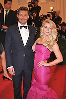 Ryan Seacrest and Julianne Hough at the 'Schiaparelli And Prada: Impossible Conversations' Costume Institute Gala at the Metropolitan Museum of Art on May 7, 2012 in New York City. ©mpi03/MediaPunch Inc.