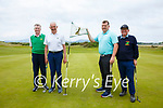 Taking part in the Kerry Shield at Waterville Golf Links on Sunday were l-r; Richard Rafferty & John Murphy(Tralee GC) with Eamon Feeley & Ben Foley( Maine Valley).