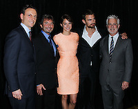 BEVERLY HILLS, CA, USA - FEBRUARY 28: Tony Goldwyn, Patrick Wachsberger, Shailene Woodley, Theo James, Rob Friedman at the 51st Annual Publicists Awards Luncheon Presented By The International Cinematographers Guild (ICG, IATSE LOCAL 600) held at the Regent Beverly Wilshire Hotel on February 28, 2014 in Beverly Hills, California, United States. (Photo by Xavier Collin/Celebrity Monitor)