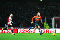 Mike van der Hoorn of Swansea City in action during the Sky Bet Championship match between Brentford and Swansea City at Griffin Park, Brentford, England, UK. Saturday 08 December 2018