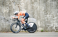 Ellen van Dijk (NED/Trek-Segafredo)<br /> <br /> Women Elite Time trial from Imola to Imola (31.7km)<br /> <br /> 87th UCI Road World Championships 2020 - ITT (WC)<br /> <br /> ©kramon