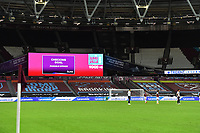 Var during West Ham United vs Aston Villa, Premier League Football at The London Stadium on 30th November 2020