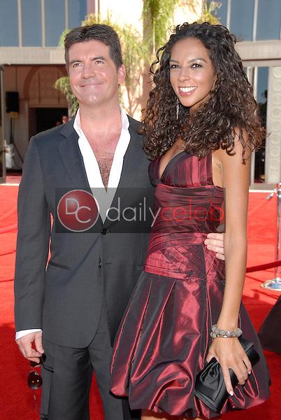 Simon Cowell and Terri Seymour<br />arriving at the 58th Annual Primetime Emmy Awards. The Shrine Auditorium, Los Angeles, CA. 08-27-06<br />Scott Kirkland/DailyCeleb.com 818-249-4998