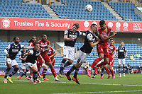 Ashley Fletcher of Middlesbrough goes close during Millwall vs Middlesbrough, Sky Bet EFL Championship Football at The Den on 8th July 2020