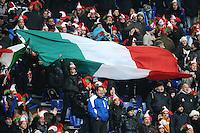 """Tifosi Italia.Roma 11/20/2012 Stadio """"Olimpico"""".Rugby 6 Nations Tournament - Torneo delle 6 Nazioni 2012.Italia Vs Inghilterra - Italy Vs England .Foto Insidefoto Andrea Staccioli"""