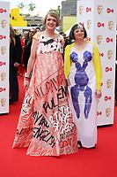 Grayson & Philippa Perry <br />  arriving at the Bafta Tv awards 2017. Royal Festival Hall,London  <br /> ©Ash Knotek