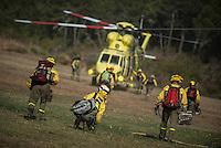 2012-08-22 Forest fire. Castrocontrigo, Tabuyo del Monte-Leon.