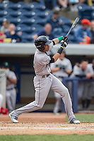 Dayton Dragons outfielder Jose Siri (15) swings the bat against the West Michigan Whitecaps on April 24, 2016 at Fifth Third Ballpark in Comstock, Michigan. Dayton defeated West Michigan 4-3. (Andrew Woolley/Four Seam Images)