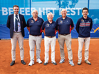 Amstelveen, Netherlands, 1 August 2020, NTC, National Tennis Center, National Tennis Championships, Men's Doubles final: Umpires<br /> Photo: Henk Koster/tennisimages.com
