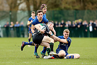 Wednesday 20th March 2019 | 2019 Schools Shield Final<br /> <br /> Shay Storey during the 2019 Ulster Schools Cup Final between Sullivan and Bangor Grammar at The Dub Arena, Queens University, Belfast, Northern Ireland. Photo by John Dickson / DICKSONDIGITAL