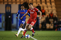 Tony Craig of Crawley Town and Jevani Brown of Colchester United during Colchester United vs Crawley Town, Sky Bet EFL League 2 Football at the JobServe Community Stadium on 1st December 2020