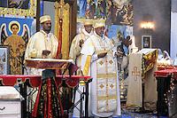 - Milano, festa per la Natività della Madonna presso la chiesa ortodossa della comunità Eritrea<br /> <br /> - Milan, celebration for the Nativity of Our Lady in the  Orthodox church of the Eritrean community