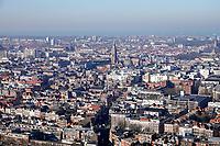 Nederland - Den Haag - Februari 2020. Den Haag. Op de achtergrond Scheveningen. Foto Berlinda van Dam / Hollandse Hoogte
