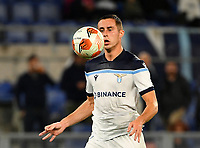 Uefa Europa League Group E Lazio vs Olympique de Marseille Olympic stadium Rome<br /> Lazio's Adam Marusic in action during the UEFA Europa League Group E Football match between Lazio and Olympique de Marseille at the Olympic stadium in Rome on October 21, 2021. <br /> UPDATE IMAGES PRESS/Isabella Bonotto