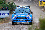 CAMILI Eric / VEILLAS Benjamin (Ford Fiesta RS WRC) during the World Rally Car RACC Catalunya Costa Dourada 2016 / Rally Spain, in Catalunya, Spain. October 15, 2016. (ALTERPHOTOS/Rodrigo Jimenez)