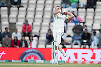 Neil Wagner, New Zealand gathers to bowl during India vs New Zealand, ICC World Test Championship Final Cricket at The Hampshire Bowl on 22nd June 2021