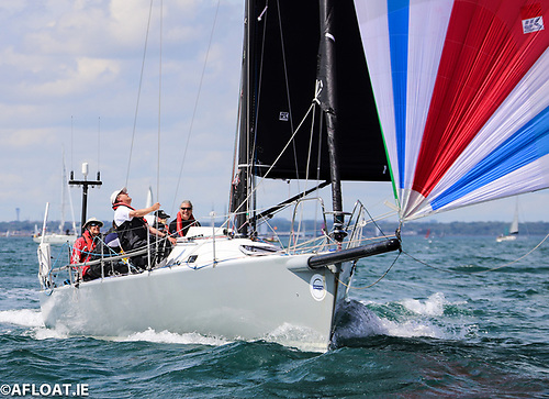 Andrew Hall's J125 Jackknife competing in the 2019 VDLR event Photo: Afloat