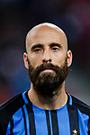 FC Internazionale Midfielder Borja Valero getting into the field during the International Champions Cup 2017 match between FC Internazionale and Chelsea FC on July 29, 2017 in Singapore. Photo by Marcio Rodrigo Machado / Power Sport Images