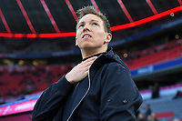 09.02.2020, xemx, Fussball 1.Bundesliga, FC Bayern Muenchen - RB Leipzig emspor, v.l. Cheftrainer Julian Nagelsmann RB Leipzig Aktion, Einzelbild, angeschnittenes Einzelmotiv, Halbfigur, halbe Figur DFL/DFB REGULATIONS PROHIBIT ANY USE OF PHOTOGRAPHS as IMAGE SEQUENCES and/or QUASI-VIDEO Muenchen *** 09 02 2020, xemx, Football 1 Bundesliga, FC Bayern Muenchen RB Leipzig emspor, from l Head Coach Julian Nagelsmann RB Leipzig Action, single picture, cut single motif, half figure, half figure DFL DFB REGULATIONS PROHIBIT ANY USE OF PHOTOGRAPHS as IMAGE SEQUENCES and or QUASI VIDEO Muenchen <br /> Bundesliga<br /> Foto Imago/Insidefoto <br /> ITALY ONLY