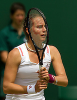 21-06-10, Tennis, England, Wimbledon, Stepfanie Voegele