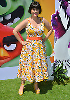 """LOS ANGELES, USA. August 10, 2019: Rebekka Johnson at the premiere of """"The Angry Birds Movie 2"""" at the Regency Village Theatre.<br /> Picture: Paul Smith/Featureflash"""