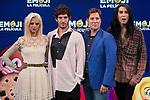 Macarena Gomez, Quim Gutierrez, Carlos Latre and Mario Vaquerizo attends to photocall of presentation of 'EMOJI the film' in Madrid, July 25, 2017. Spain.<br /> (ALTERPHOTOS/BorjaB.Hojas)