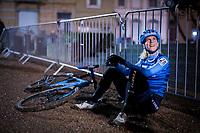 Jolanda Neff (SUI/Trek Factory Racing) post-race<br /> <br /> women's race<br /> 44th Superprestige Diegem (BEL) 2018<br /> ©kramon