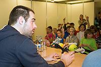 20-2-08, Netherlands, Rotterdam ABNAMROWTT 2008,  kids persconference sluiter