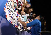 BOCA RATON, FL - DECEMBER 15, 2012: of the USA WNT of China WNT during an international friendly match at FAU Stadium, in Boca Raton, Florida, on Saturday, December 15, 2012. USA won 4-1.