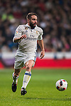 Daniel Carvajal Ramos of Real Madrid in action during their Copa del Rey Round of 16 match between Real Madrid and Sevilla FC at the Santiago Bernabeu Stadium on 04 January 2017 in Madrid, Spain. Photo by Diego Gonzalez Souto / Power Sport Images