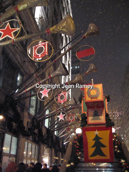 Snowy State Street, Chicago