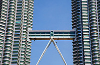 Skybridge on the Petronas Towers, Kuala Lumpur, Malaysia