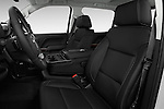 Front seat view of 2017 GMC Sierra-1500 Crew-Cab-Short-Box-SLT 4 Door Pickup Front Seat  car photos