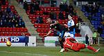 27.02.18 St Johnstone v Rangers:<br /> Alfredo Morelos fouled for penalty