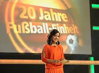Jubiläumsgala 20 JAHRE FUSSBALL EINHEIT - Congresscenter Leipzig - DFB  - im Bild: Miriam Pielhau .Foto: Norman Rembarz .