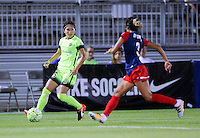 Boyds, MD - Wednesday Sept. 07, 2016: Nahomi Kawasumi during a regular season National Women's Soccer League (NWSL) match between the Washington Spirit and the Seattle Reign FC at Maureen Hendricks Field, Maryland SoccerPlex.