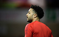 Lincoln City's Bruno Andrade during the pre-match warm-up<br /> <br /> Photographer Chris Vaughan/CameraSport<br /> <br /> The EFL Sky Bet League Two - Lincoln City v Exeter City - Tuesday 26th February 2019 - Sincil Bank - Lincoln<br /> <br /> World Copyright © 2019 CameraSport. All rights reserved. 43 Linden Ave. Countesthorpe. Leicester. England. LE8 5PG - Tel: +44 (0) 116 277 4147 - admin@camerasport.com - www.camerasport.com