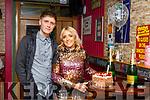 Engagement Party: Tony Slemon & Hannah McGrath, Listowel celebrating their engagement at Christy's Bar, Listowel on Saturday night last.