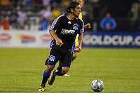 27 MAY 2009: #3 Nick Garcia of the San Jose Earthquakes in action during the San Jose Earthquakes at Columbus Crew MLS game in Columbus, Ohio on May 27, 2009. The Columbus Crew defeated San Jose 2-1